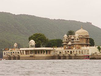 Tourism in Rajasthan - Image: Jag Mandir