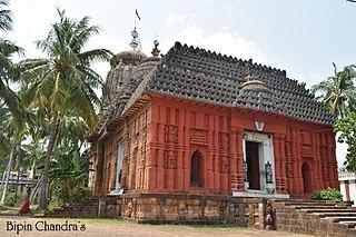 Khallikote Town in Odisha, India