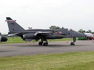 RAF Coltishall - Jaguar GR3A of 41 Sqn