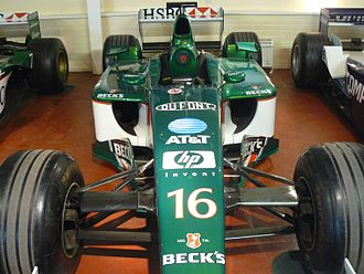 Jaguar R3 - Jaguar R3 which competed in the 2002 season driven by Eddie Irvine