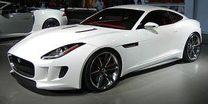 LA Auto Show - Jaguar C-X16 concept car