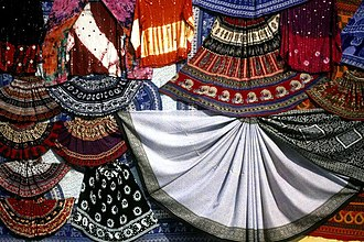 Culture of Asia - Traditional Rajasthani garments from Jaipur, Rajasthan