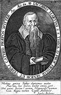 Jakob Martini German theologian and philosopher.