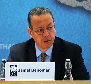 Jamal Benomar - Benomar at Chatham House in 2013