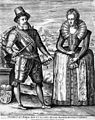 James I and VI with his consort, Anne of Denmark. Wellcome M0012951.jpg