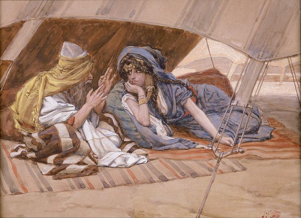 James Jacques Joseph Tissot - Abram's Counsel to Sarai - Google Art Project