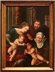 Holy Family with Saint Elisabeth and Saint John the Baptist