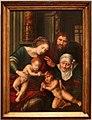 Jan massys, sacra famiglia con i ss. elisabetta e giovannino, 1530-40 ca.jpg