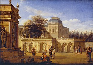 The Grounds of a Baroque Palace