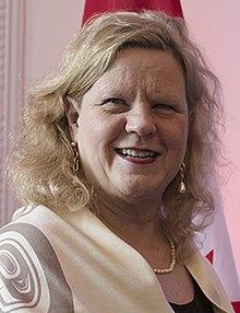 Janice Charette in London in 2019