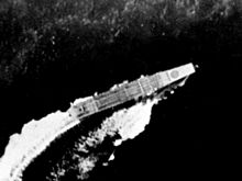 Japanese aircraft carrier Sōryū underway during Battle of Midway on 4 June 1942.jpg