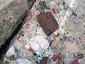 Jasper pebbles in quartzite (Lorrain Formation, Paleoproterozoic, ~2.3 Ga; Ottertail Lake Northeast roadcut, near Bruce Mines, Ontario, Canada) 22 (46792991645).jpg