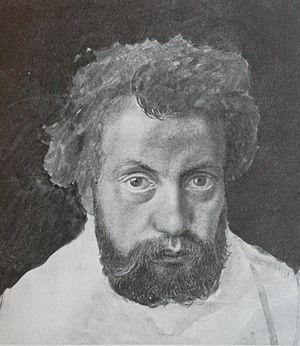 Karl Jauslin - Self portrait in 1870