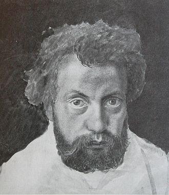 Karl Jauslin - Self-portrait (c.1870)