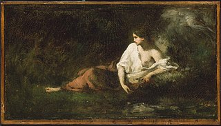 Woman Reclining in a Landscape