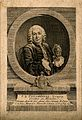 Jean Antoine Peyssonnel. Line engraving by E. Fessard after Wellcome V0004640.jpg