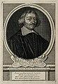 Jean Baptiste Morin. Line engraving by E. Desrochers. Wellcome V0004128.jpg