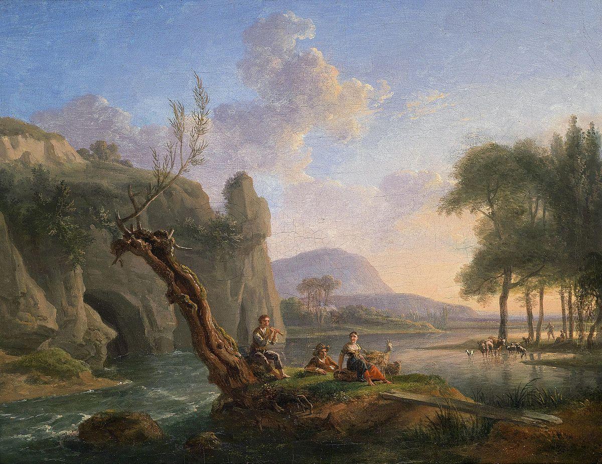 Poesía pastoril - Wikipedia, la enciclopedia libre
