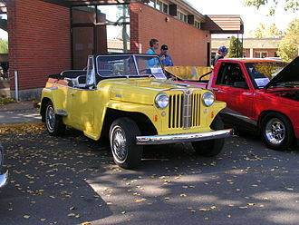 Crossover (automobile) - 1948 Willys Jeepster