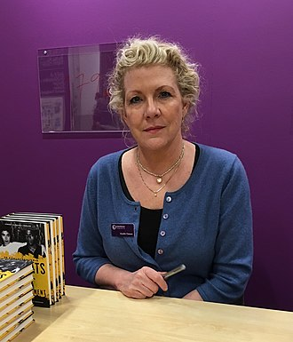 Jennifer Clement - Clement at the Gothenburg Book Fair in 2016