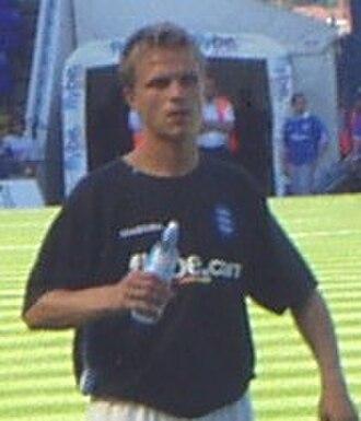 Jesper Grønkjær - Grønkjær with Birmingham City in 2004