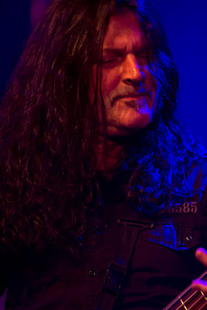 Jim Sheppard - Jim Sheppard performing with Sanctuary, Barge to Hell 2012