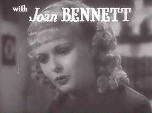 Joan Bennett - from the trailer for Little Women