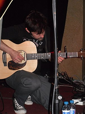 Joey Cape - Joey Cape performing solo in 2010.