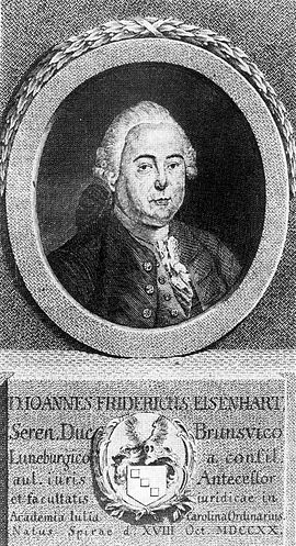 Johann Friedrich Eisenhart