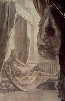 Sévices extrêmes sur une femme attachée au lit