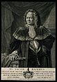 Johann Jakob Baier. Line engraving by G. M. Preisler after h Wellcome V0000296.jpg