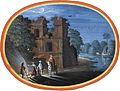 Johann König (zugeschr.) - Reisende vor einer Ruine im Mondschein.jpg