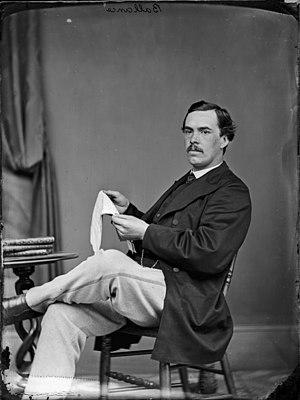 John Ballance - Ballance in around 1870