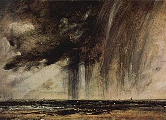 Oil sketch - John Constable, 1827, 22 × 31 cm