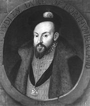 John Dudley, 1st Duke of Northumberland, led the Council of Regency after the downfall of Somerset