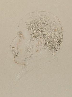 John Gough Nichols - John Gough Nichols, 1868 drawing by Leonard Charles Wyon