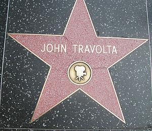 Italiano: Stella di John Travolta sulla Hollyw...