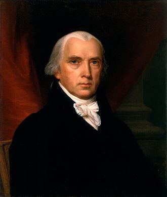 Presidency of James Madison - Image: John Vanderlyn James Madison Google Art Project