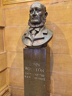 John Whitton Australian railway engineer