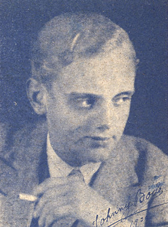 Johnny Bode - Image: Johnny Bode i Charme 1931