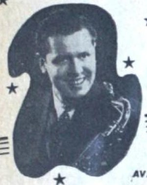 Johnny Gilbert - Johnny Gilbert in a 1945 advertisement