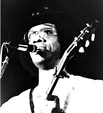 """Johnny """"Guitar"""" Watson - Watson in 1976"""