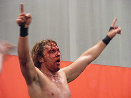 Good als Jon Moxley in oktober 2010