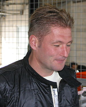 Jos Verstappen - Verstappen at an A1 Grand Prix test in 2005