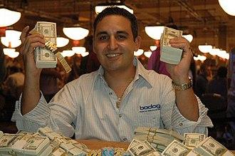 Josh Arieh - Josh Arieh in the 2005 World Series of Poker