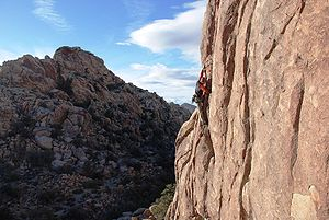 Joshua Tree National Park: Climbing Jerry Brow...
