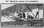 Journal Excelsior (1911) baptême de l'air d'Amélie Diéterle (A).jpg