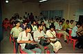 Journalists - Press Conference - Dinosaurs Alive Exhibition - Science City - Calcutta 1995-06-15 131.JPG