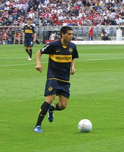 Image illustrative de l'article Juan Román Riquelme