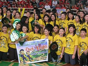 Saint Jude Catholic School (Manila) - Winners of an activity on Family Day
